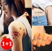 [HOT ITEM][1+1]Tattoo Stickers / BRANDED Temporary Tattoo Sticker *Japan Temporary Tattoo Stickers/ Cute stickers/ Body Tattoo/ Unique Designs/ Korean Japanese/ Stickers ★ UNISEX