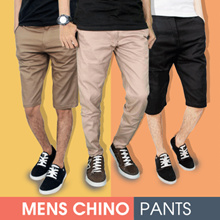 UPDATE STOCK !! MEN CHINO PANTS READY BIG SIZE ( 27 - 38 )