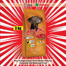 Eryx Adragna Dog Food Chicken Flavour - 3kg | Complete And Balanced Food
