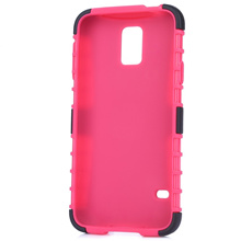 [2 IN 1 SMART PHONE COVER FOR SAMSUNG S5] 2 IN 1 SMART PHONE COVER PROTECTIVE CASE FOR SAMSUNG S5 [P