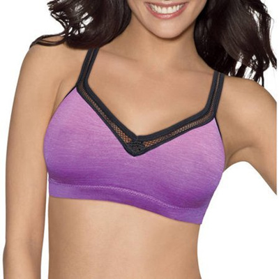 3ba0dfe795b Qoo10 - Hanes Womens Perfect Coverage ComfortFlex Fit Wirefree Bra ...