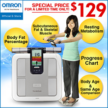 CNY Special Promo - $129 Omron Body Composition Monitor HBF-375 [1 Year Local Warranty]
