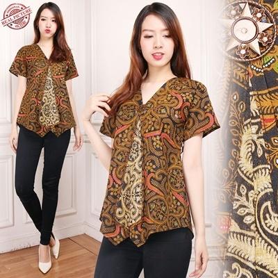 top blouse cika batik woman
