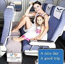 🆕Plane Train Travel💓Inflatable Foot Rest💓Portable Pillow Kids Bed💓3rd Generation