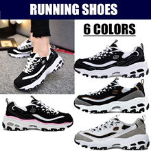 Skechers Fashion casual shoes |black and white panda running shoes|Sports shoes
