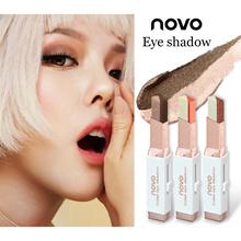 Novo Two Tone Eyeshadow Bar Blush on Lip