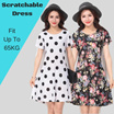 24 Type Comfortable Cooling Milky Silk Short Sleeve Ladies Casual Dress