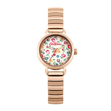 CATH KIDSTON WHITE FLORAL ALLOY QUARTZ CKL016RGM BRACELET ROSE GOLD METAL WOMEN WATCH