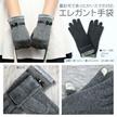 【送料無料】 スマホ対応エレガント手袋