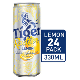 Tiger Beer Radler Lemon 330ml x 24 Cans