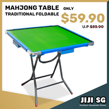 FOLDABLE MAHJONG TABLE * FOLDING TABLE * TRADITIONAL MAHJONG TABLE * LARGE SIZE