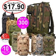 ★Sports Backpack Rucksack Army Bag★[SG Seller] [Camouflage ]Backpack Tactical Travel Bag