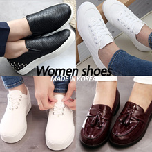 [Made in Korea] Women shoes / Casual Shoes / Loafers / Sneakers / Platform Shoes / Flats