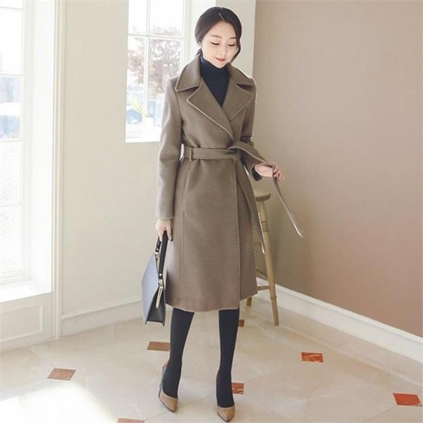 ベルops配色オンバルルーズフィットフレアワンピースnew フレアワンピース/ワンピース/韓国ファッション