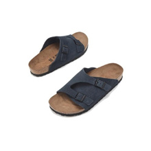 ★ALL 20% OFF★/K-FASHION/[birkenstock] Zurich blue unisex common slippers RFSO9E157B2/AUTHENTIC