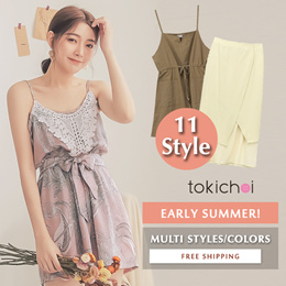TOKICHOI - Early Spring! Trendy Bestseller Dress Multi Colors Multi Styles - Free Shipping