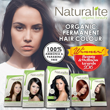 Naturalite ORGANIC Permanent Hair Color - 100% AMMONIA FREE / 100% PARABENS FREE - Nourishing Color