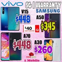 Samsung A70 | A50 | A30 | Vivo V15 | Singapore Warranty