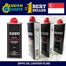 Premium Zippo Fluid oil lighter 125ml wick flints stone 100% GENUINE Made USA♥SG Seller Cheapest♥