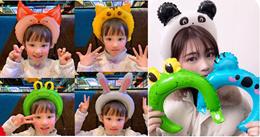 *New*Headband Balloon/Wrist Balloon/PAW Patrol Frozen Mickey Princess cars cartoon Balloon