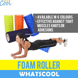 EVA Foam Roller Trigger Point Massage Tight Muscle Yoga Aerobic Exercise Indoor Sport Therapy