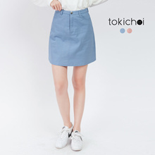 TOKICHOI - Buttoned Basic Skirt-172185-Winter