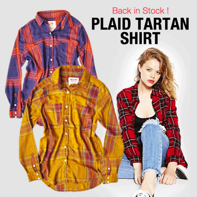 The-Fahrenheit Plaid Collection is Back! Deals for only Rp55.000 instead of Rp55.000