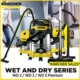 *KÄRCHER SALES* Wet and Dry Series Vacuum Cleaner  WD 3 / WD 5 Premium