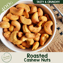 Roasted Cashew Nuts [400g] The Nuts Warehouse
