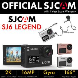 [OFFICIAL SG SJCAM] ORIGINAL NEW SJCAM SJ6 LEGEND/SJ7 STAR WIFI Full HD Waterproof Sports Action Cam