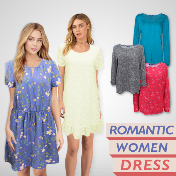 [ On sale Now ] Best price ever - Romantic women dress - original product
