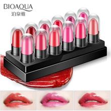 Bioaqua Mini Lipstik 12 Warna - Set Travel Waterproof