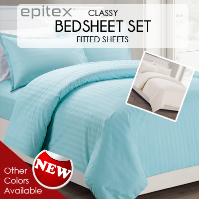 Charming [Epitex]☆Premium Bedsheets☆High Quality Bedsheets☆100% Cotton Bedsheets!
