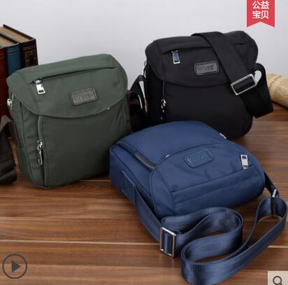 Casual Satchel Bag Men Single Shoulder Bag Small Bag Nylon Rucksack Sling Bags Deals for only S$70.99 instead of S$0