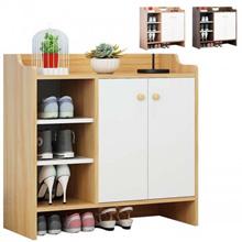 Multi-layer Modern Wooden Entryway Door Shoe Cabinet Rack Storage Organizer (S-310)