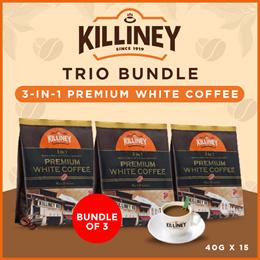 Killiney 3-in-1 Premium White Coffee Trio Bundle
