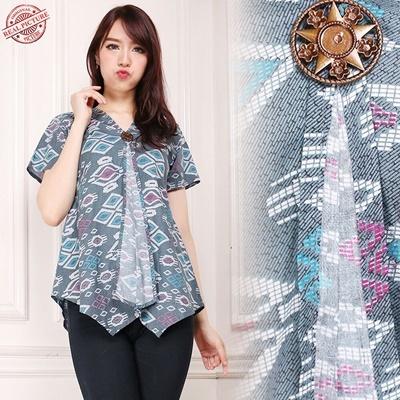 top blouse clara batik wanita