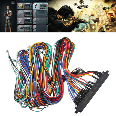 JAMMA Arcade Mame Multicade Harness 56 Pin Cabinet Wiring Loom Connector on