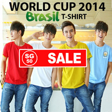 ♥WORLD CUP T-shirt Man♥ Clearance Sale! Dri-fit Quality!England Jersey Brazil Argentina Spain