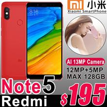 Xiaomi Redmi Note 5 4GB RAM 64GB ROM SmartPhone Snapdragon 636 Octa Core 5.99 Full Screen 4000mAh