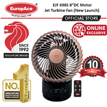 *CNY PROMO* [Energy Saving] [Japan DC Motor] 8in Jet Turnine Fan - 10 Years Motor Warranty