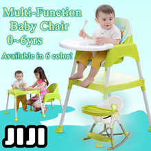 【BABY HIGH CHAIR】 3-IN-1 Baby High chair Feeding Chair ★ Baby Chair ★ Kids Study Table ★ BABY CHAIR