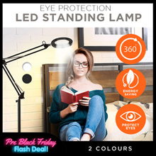 【NEW ARRIVAL】Eye Protection LED Standing Lamp / Energy Saving / 360° Rotation Angle Adjustable!