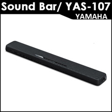 [YAMAHA]Yamaha Japan◆Authentic◆New YAS-107 Sound Bar with Bluetooth and Dual Built-in Subwoofer