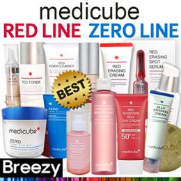 ★CNY SALE $12.9!!★ [Medicube] Red Line / Zero Line / Zero Pad / Red Erasing Camucamu Serum / Premium