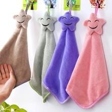 Hand Towel Bintang Star / Kain Handuk Lap Tangan Bintang Size 45 x 27cm Microfiber Fabric