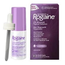 [Rogain] Woman Login Solution 2% Minoxidil Tropical Solution Hair Restoration Treatment