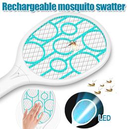 LED充电式超强电蚊拍 /可换18650锂电池 /强力 /灭蚊拍 /蚊子苍蝇拍W