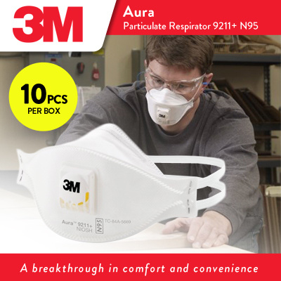 N95 box 3m3m™ Aura™ 10pcs 9211 Respirator Particulate