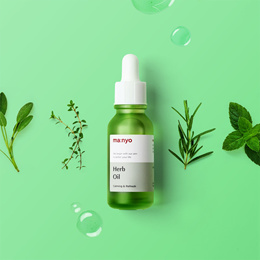 🌟TODAY ONLY🌟[ManyoFactory]★Herb Oil 20ml★ Definite Skin Soothing Solution / Triple skin soothing